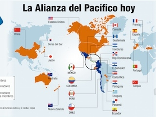 Chile y Argentina se acercan a bloque Asia-Pacífico