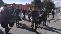 Se enfrentan 4 mil campesinos de Chihuahua con Mil soldados de GN